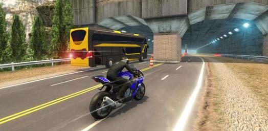 摩托与班车截图