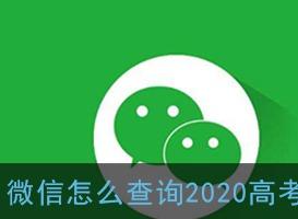 微信查询2020高考成绩方法 微信怎么查询2020高考成绩
