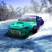 在冰的漂泊汽车