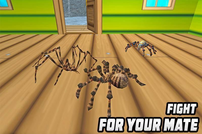 蜘蛛模拟器截图
