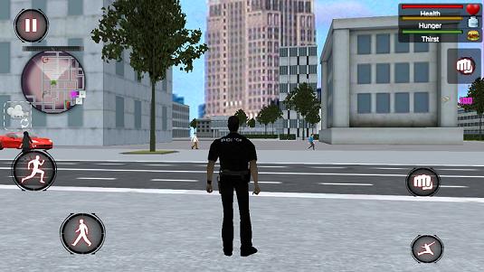 警察遭遇打击战场截图