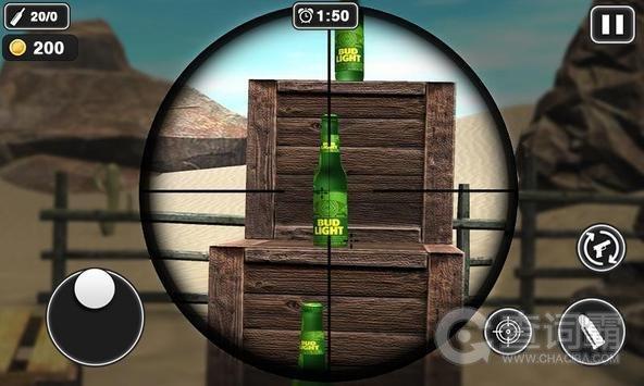 射瓶子游戏
