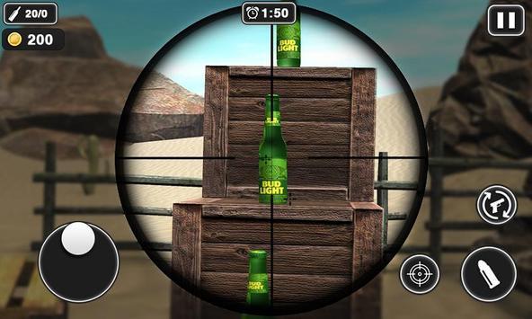射瓶子游戏截图