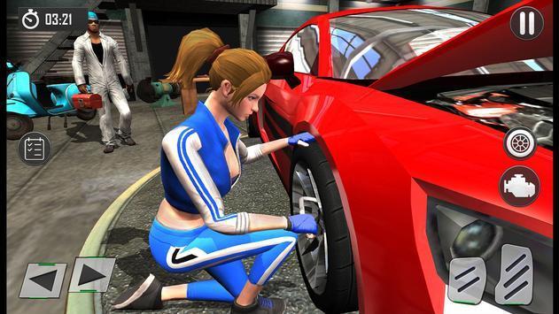 车库汽车修理工截图