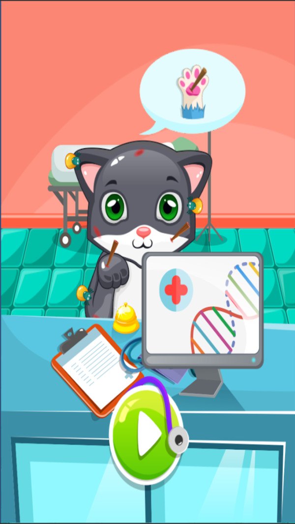 猫咪护理诊所截图