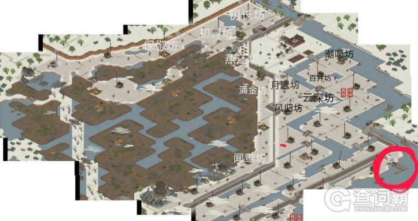 江南百景图杭州码头在哪