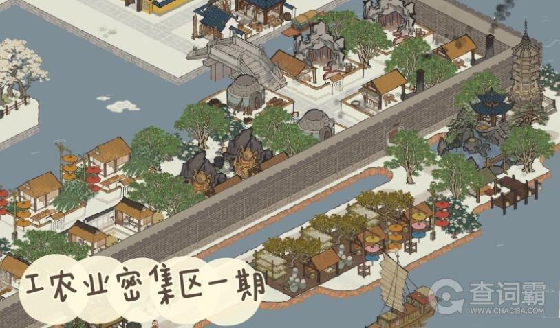 江南百景图杭州布局图一览