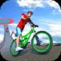 BMX自行车超级坡道