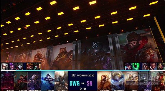 S10全球总决赛战报 DWG 1:0 SN拿下首胜