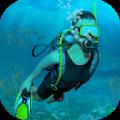 筏生存海洋探索水下世界运动会