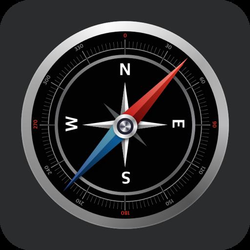 经纬度指南针