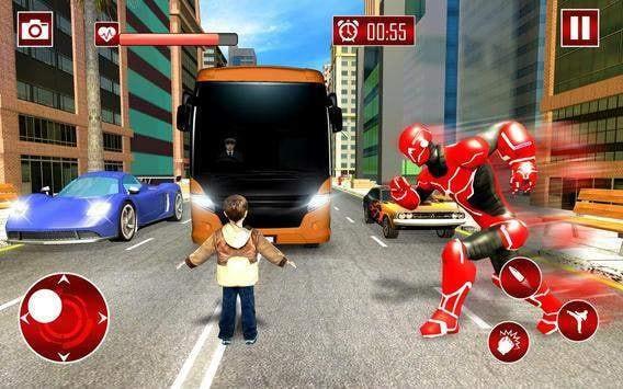 真正的机器人速度英雄截图