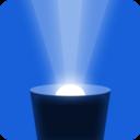 藍光手電筒