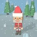 像素圣誕老人跳高高