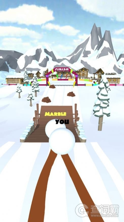 雪球滚动比赛