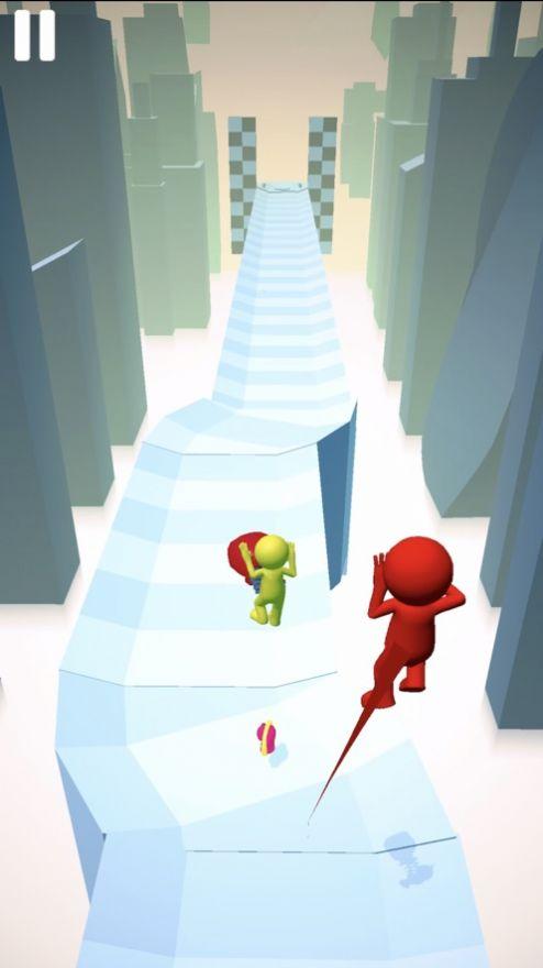 雪橇跑截图