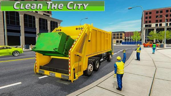 真实垃圾车截图