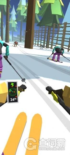 滑雪道3D
