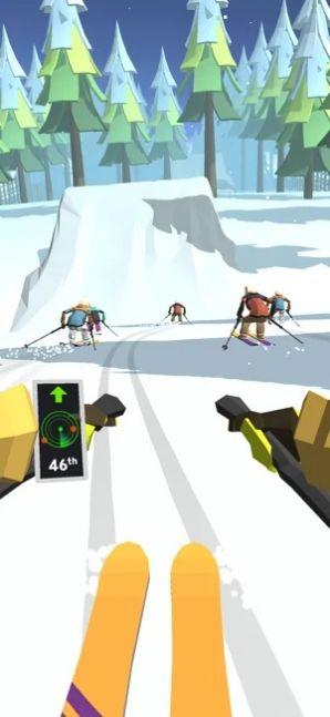 滑雪道3D截图