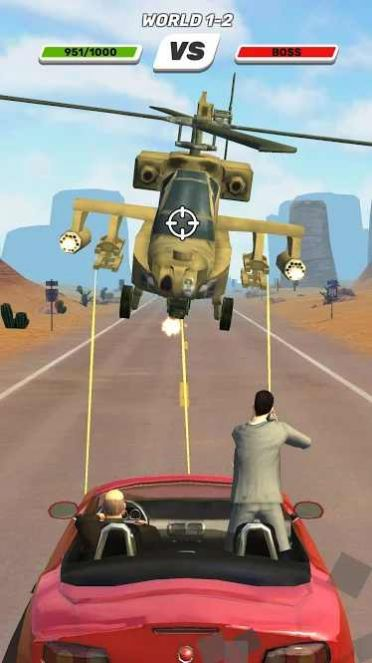 黑帮公路射击截图