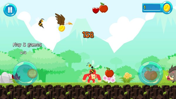 水果奔跑截图