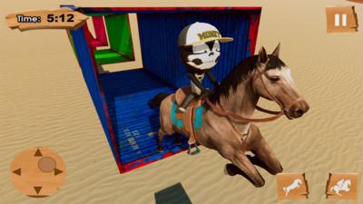 火柴人骑马截图
