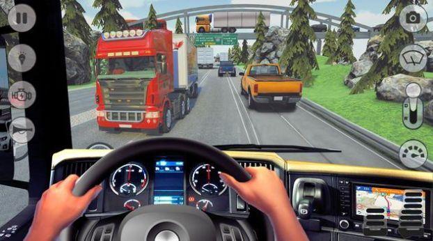 卡车驾驶公路比赛截图
