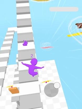 楼梯赛跑3D截图