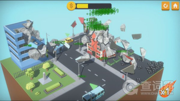 城市毁灭物理模拟器