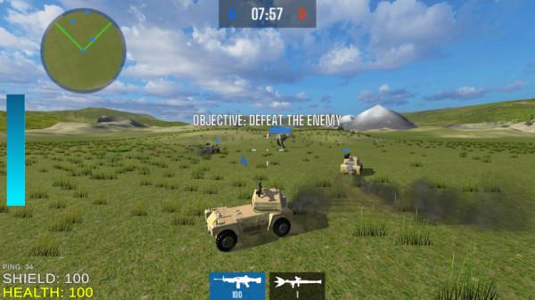 机械战车大作战截图
