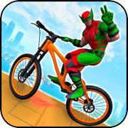 超级英雄BMX自行车赛