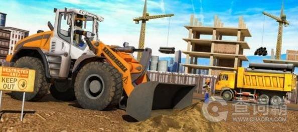 火柴人城市建设挖掘机