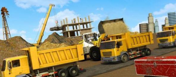 火柴人城市建设挖掘机截图