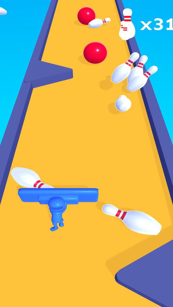 弹击保龄球游戏截图