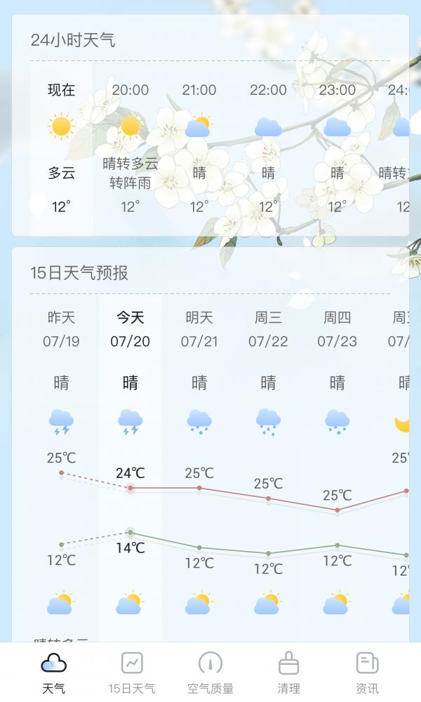 荔枝天气截图
