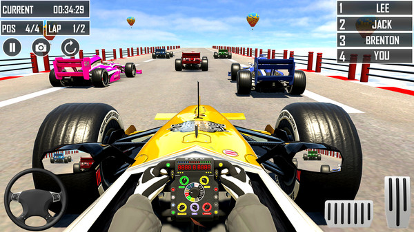 F1赛车截图