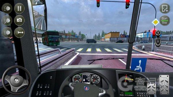 欧洲公交车模拟器