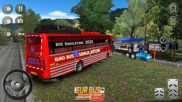 欧洲公交车模拟器截图