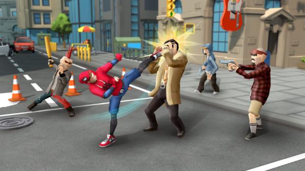 超凡蜘蛛侠格斗截图