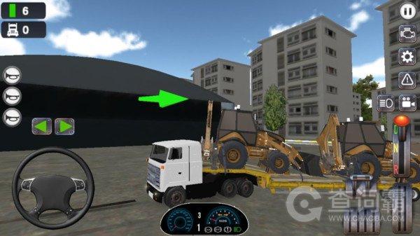 驾驶真正卡车