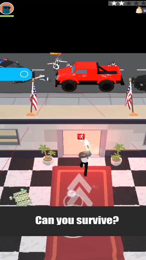 银行劫匪截图