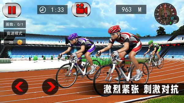 竞技自行车模拟截图