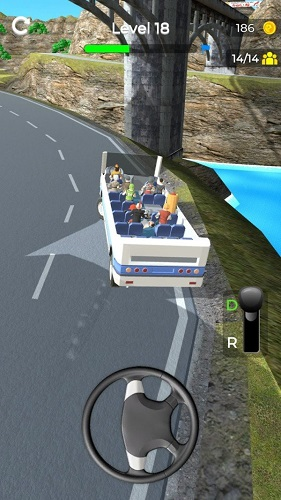 上山巴士截图