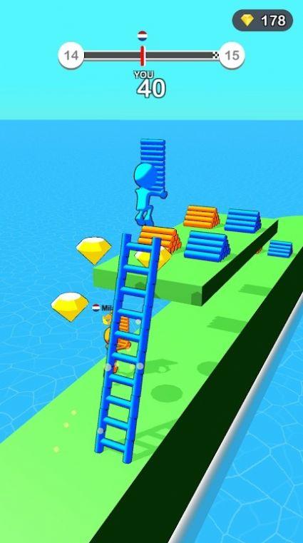 建立阶梯截图