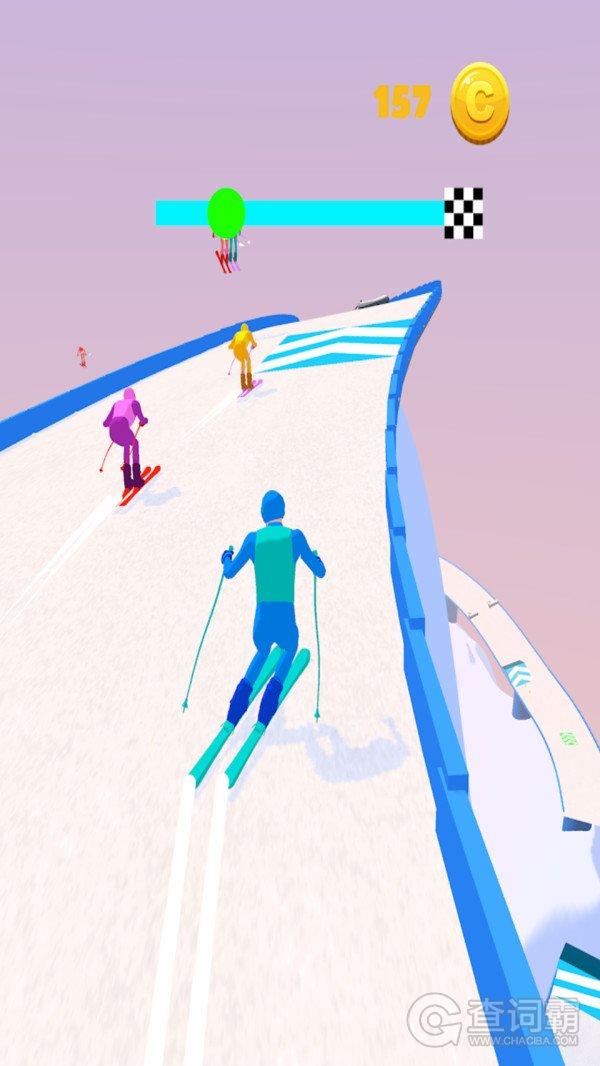 滑雪小冒险
