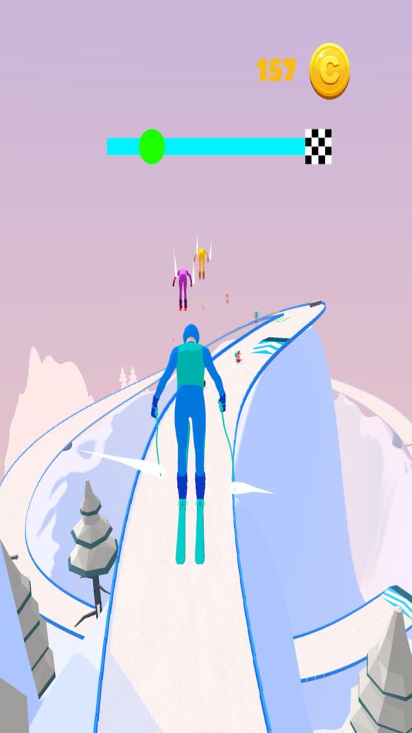 滑雪小冒险截图