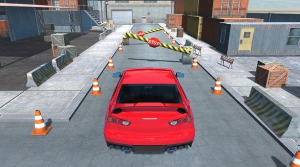 真实停车驾驶模拟