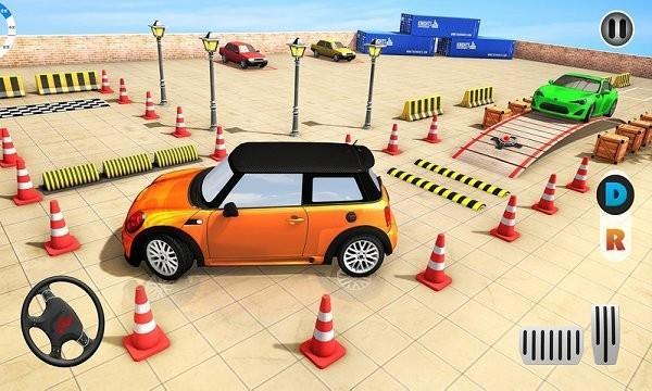 现代停车场驾驶模拟