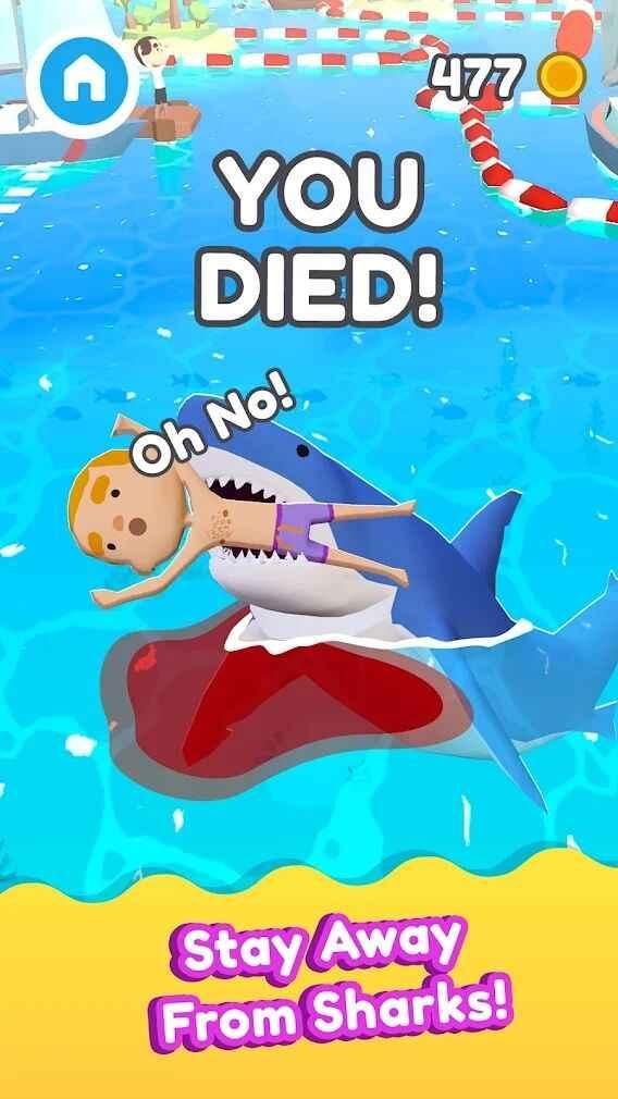 鲨口逃生截图