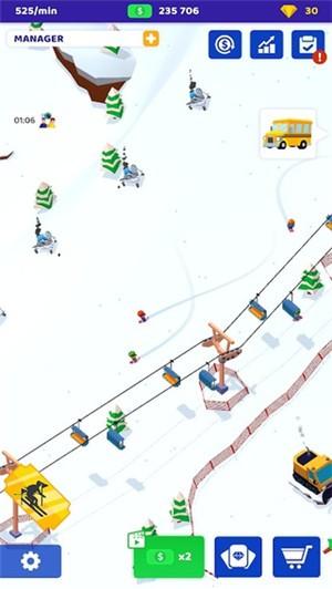 空闲滑雪大亨截图